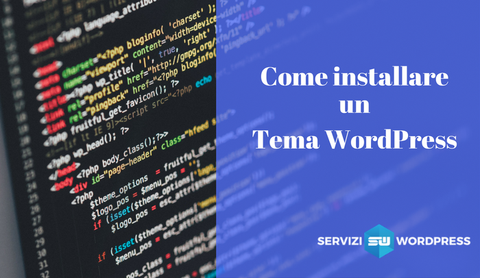 Come installare un tema WordPress