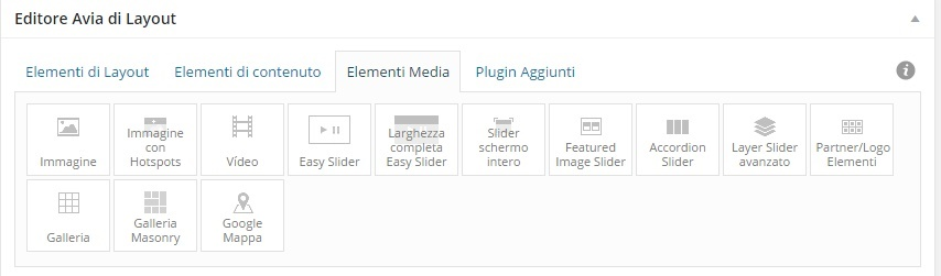 elementi media
