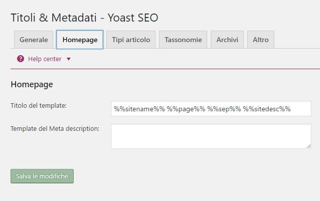 titoli metadati yoast seo 3.4.2