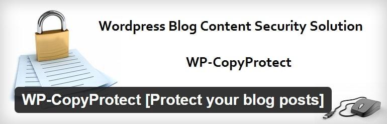 wp copyprotect