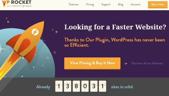 WP Rocket: cache plugin per velocizzare WordPress