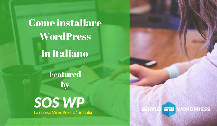 installare WordPress in italiano