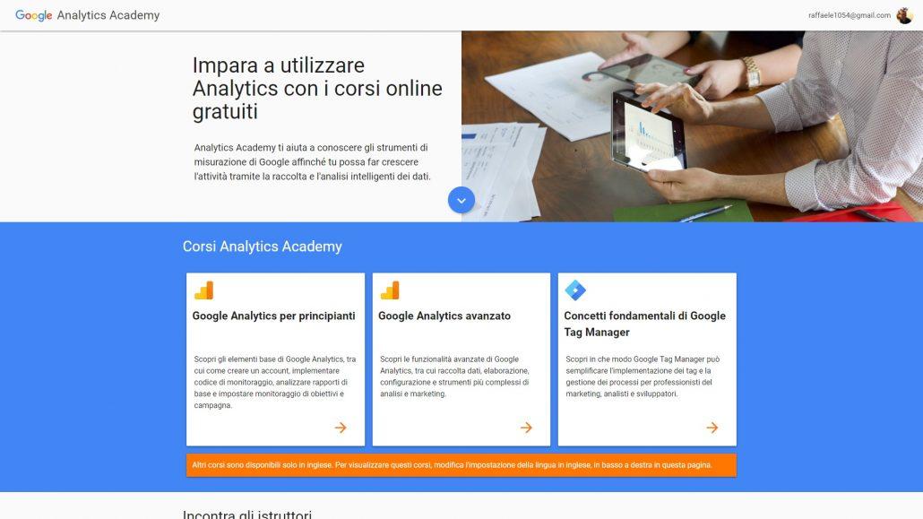 Google Analitycs Academy