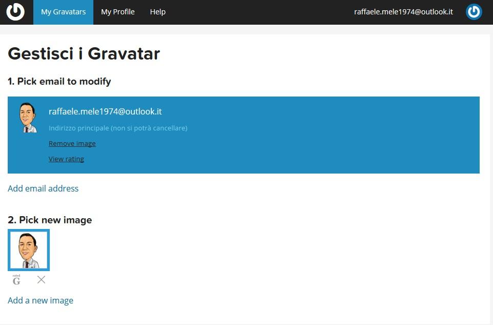 My Gravatars