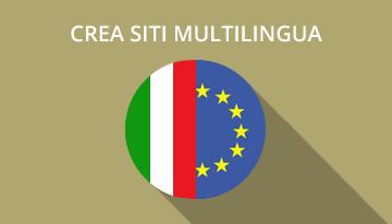 corso siti multilingua