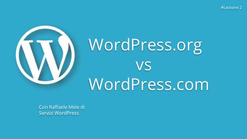 Corso WordPress Gratuito - Lezione 2