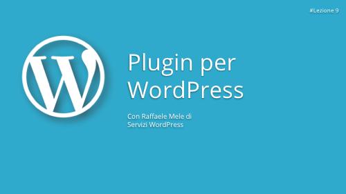 Corso WordPress Gratuito - Lezione 9