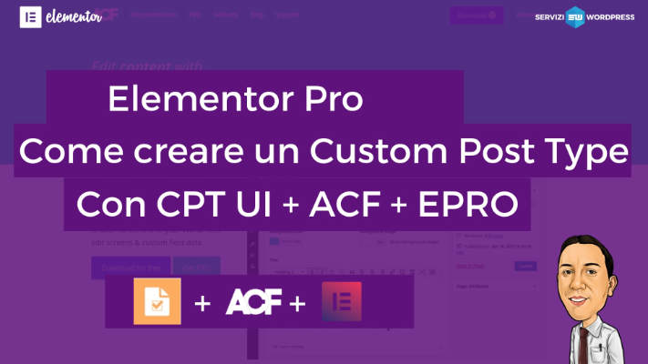 Elementor Pro Custom Post type ACF