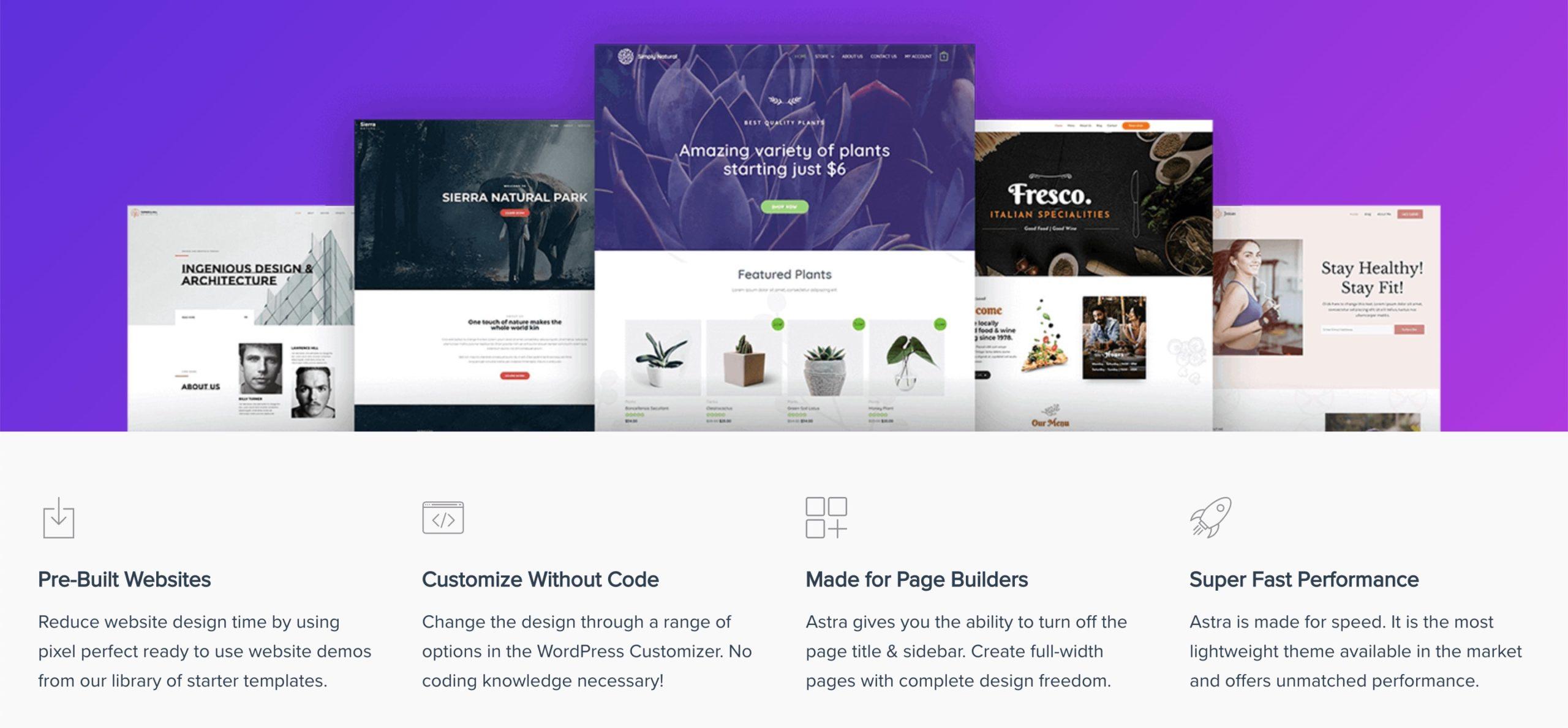 Astra Tema WordPress