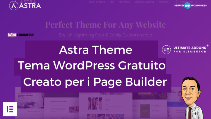 Astra tema WordPress