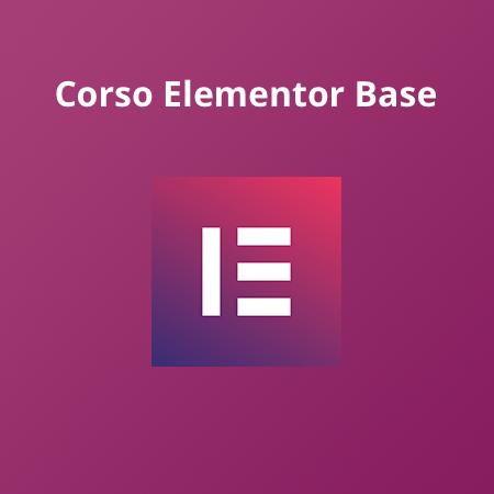 Corso Elementor Base