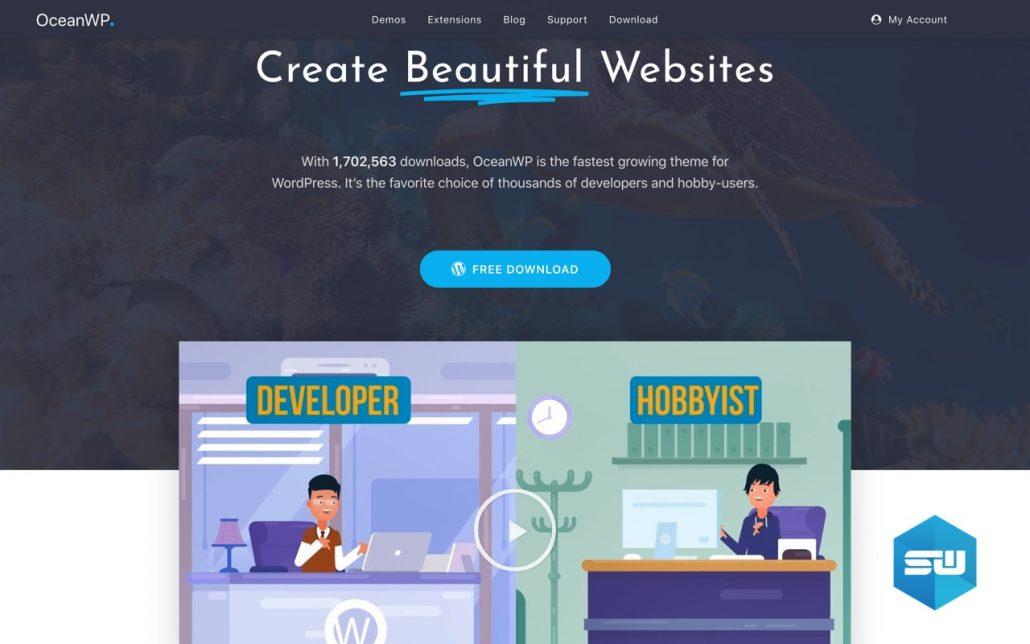 OceanWP WordPress