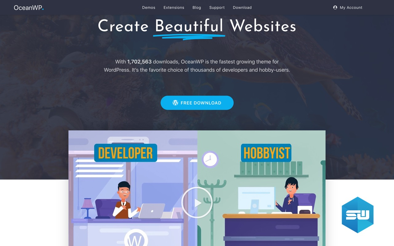 OceanWP WordPress