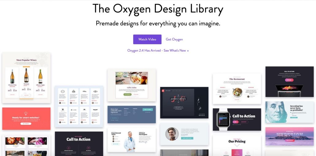 Oxygen design library