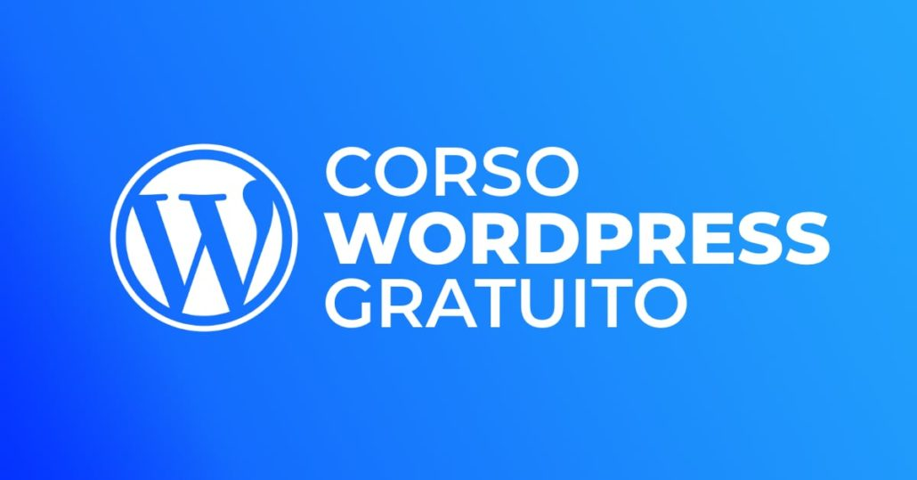 Corso WordPress Free