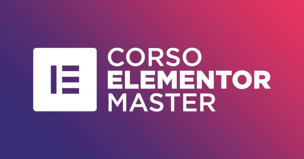 Corso Elementor Master